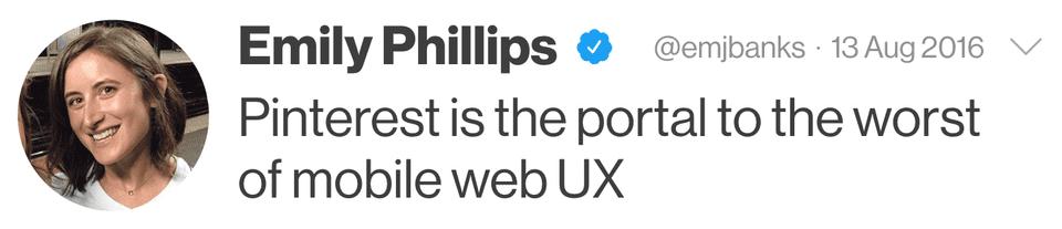 đánh giá về Pinterest